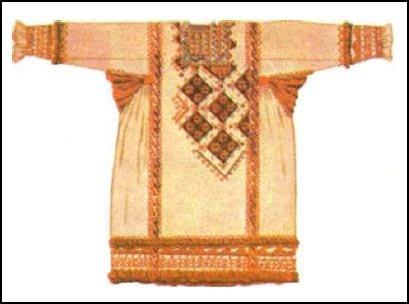 Праздничная мужская рубаха. Семипалатинская губерния.