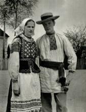 """Фото из книги """"Белорусская народная одежда""""."""